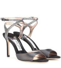Jimmy Choo   Helen 85 peep-toe sandals   Clouty