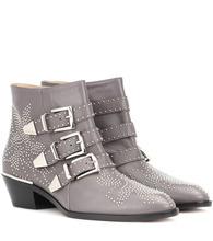 Chloé | Susanna leather ankle boots | Clouty