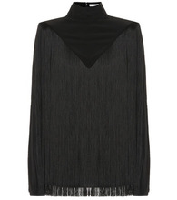 GIVENCHY | Fringed silk top | Clouty