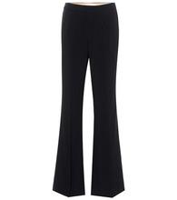Chloé | Wide-leg crepe trousers | Clouty