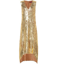 Sies Marjan | Gwen metallic dress | Clouty