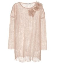 VALENTINO | Mohair-blend sweater | Clouty