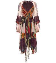 Etro | Printed silk-blend midi dress | Clouty