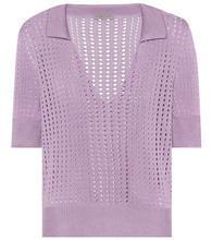 Bottega Veneta | Knitted silk top | Clouty