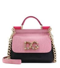 Dolce & Gabbana | Sicily Mini leather shoulder bag | Clouty