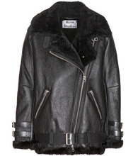 Acne Studios | Velocite shearling-lined leather jacket | Clouty