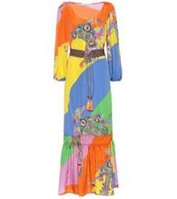 Etro | Paisley silk-blend jacquard dress | Clouty