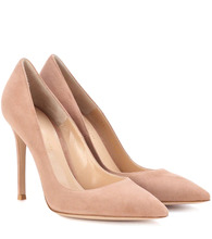 Gianvito Rossi | Gianvito 105 suede pumps | Clouty