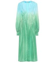 Attico | Silk shirt dress | Clouty