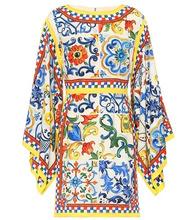 Dolce & Gabbana | Printed silk minidress | Clouty