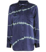 Equipment | Slim Signature printed silk shirt | Clouty