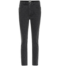 Ulla Johnson | Prince polka-dot skinny jeans | Clouty