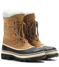 Sorel | Caribou® leather and rubber boots | Clouty