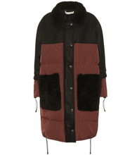Marni | Shearling-trimmed coat | Clouty