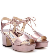 Jimmy Choo | Belize 65 patent leather sandals | Clouty