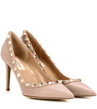 Valentino Garavani | Valentino Garavani Rockstud leather pumps | Clouty