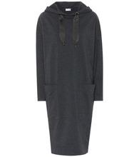 Brunello Cucinelli | Stretch-cotton sweater dress | Clouty