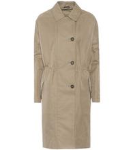 Brunello Cucinelli | Cotton-blend tench coat | Clouty