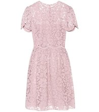 VALENTINO | Cotton-blend lace dress | Clouty
