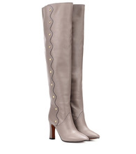 Chloé | Leather over-the-knee boots | Clouty