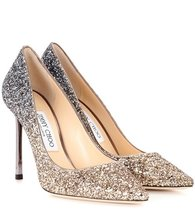 Jimmy Choo | Exclusive to Mytheresa – Romy 100 glitter pumps | Clouty