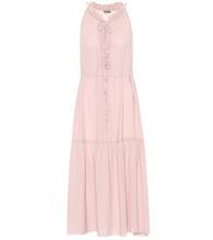 Bottega Veneta | Silk georgette midi dress | Clouty