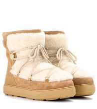 MONCLER   New Fanny suede ankle boots   Clouty
