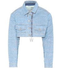 Off-White | Cropped denim jacket | Clouty
