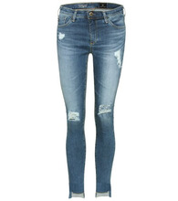 AG Jeans   Middi Ankle distressed jeans   Clouty