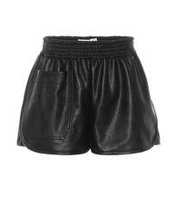 Stella McCartney | Faux leather shorts | Clouty