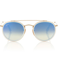 Ray Ban | Round Double Bridge sunglasses | Clouty
