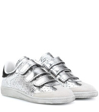 Isabel Marant   Beth leather sneakers   Clouty