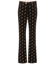 Chloé   Embroidered velvet trousers   Clouty