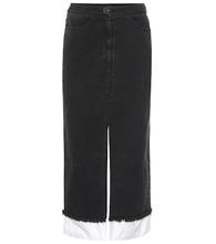 Rejina Pyo | Denim pencil skirt | Clouty