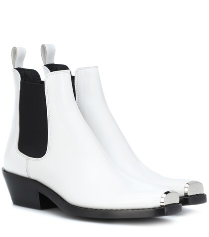 Calvin Klein | Claire leather ankle boots | Clouty