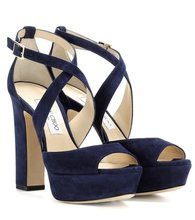 Jimmy Choo | April 120 suede sandals | Clouty
