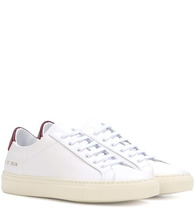 Common Projects   Achilles Retro leather sneakers   Clouty