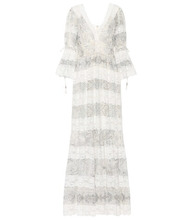 Etro | Cotton and silk lace gown | Clouty