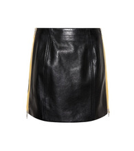 GIVENCHY | Leather miniskirt | Clouty