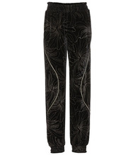 Chloé | Embroidered velvet trousers | Clouty