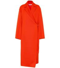 JIL SANDER | Wool-blend coat | Clouty