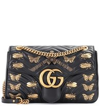 GUCCI | GG Marmont leather shoulder bag | Clouty