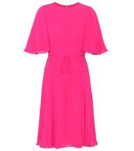 VALENTINO | Silk-crepe dress | Clouty