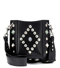 Isabel Marant | Oskan small leather shoulder bag | Clouty
