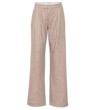 MAX MARA | Dondolo wool and cotton pants | Clouty