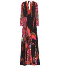 Etro | Printed maxi dress | Clouty