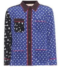 Marni | Printed silk-blend shirt | Clouty