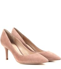 Gianvito Rossi | Gianvito 70 suede pumps | Clouty