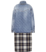 Balenciaga | Oversized layered cotton jacket | Clouty
