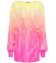 Attico | Silk wrap dress | Clouty